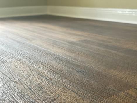 Floor Installation Prep close up